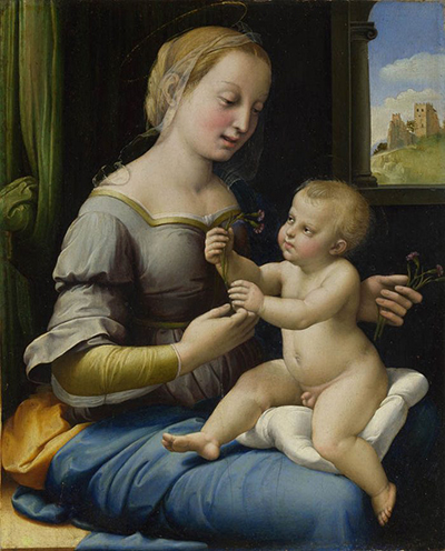 Madonna of the Pinks Raphael