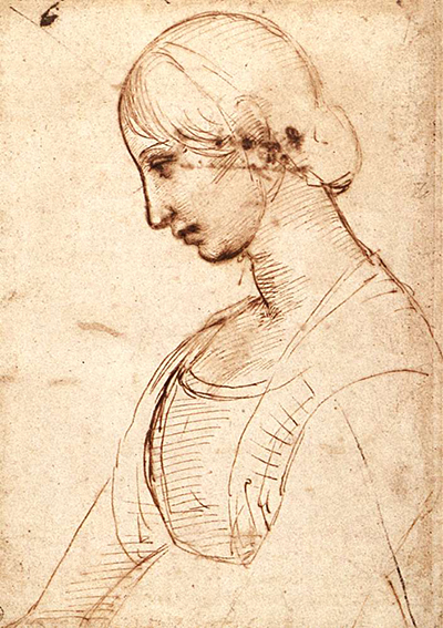 Portrait of a Young Woman Raphael
