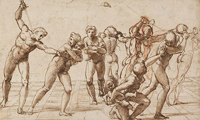 Study for the Massacre of the Innocents Raphael