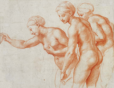 Study for the Three Graces Raphael