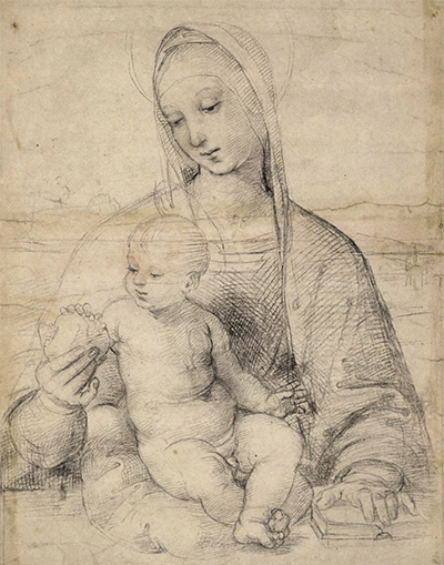 The Virgin with the Pomegranate Raphael